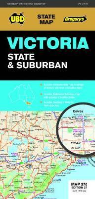 Victoria State Suburban Map 370 27th Ed