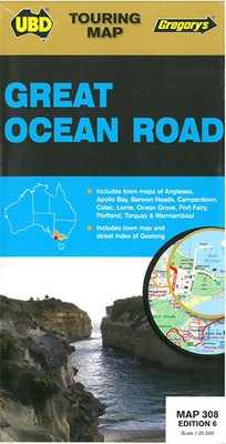Great Ocean Road Map 308 6th Edition