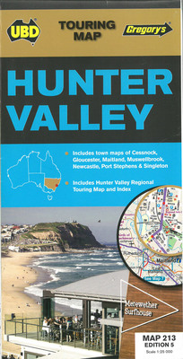 Hunter Valley Map 213