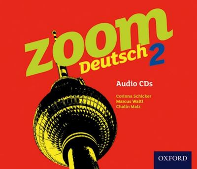 Zoom Deutsch 2 Audio CDs Set of 4