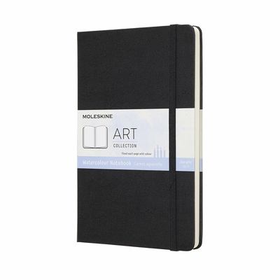 Moleskine Watercolour Notebook Large HC Black