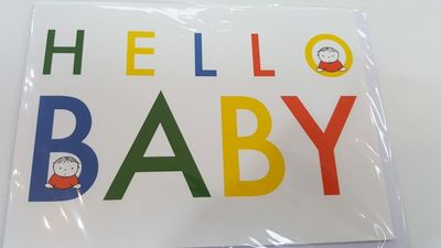 Hello Baby (Dick Bruna) - blank card