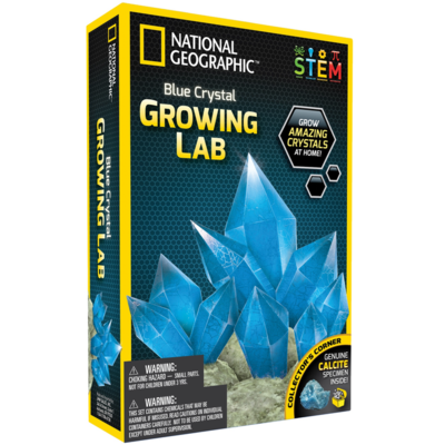 Blue Crystal Growing Lab (National Geographic)