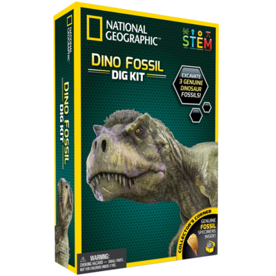 Dinosaur Fossil Dig Kit (National Geographic)