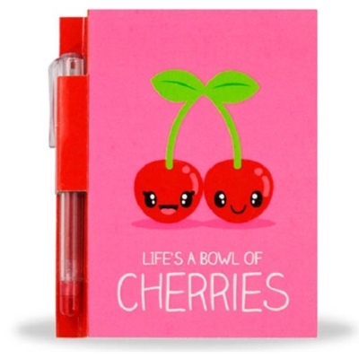 Sketch & Sniff Notepad and Pen - Cherry
