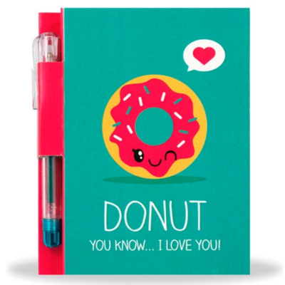 Sketch & Sniff Notepad and Pen - Donut