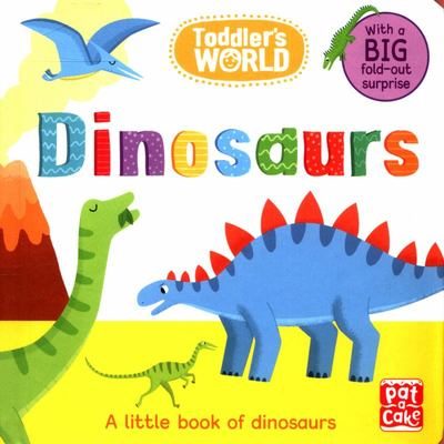 Dinosaurs - A Little Board Book of Dinosaurs with a Fold-Out Surprise