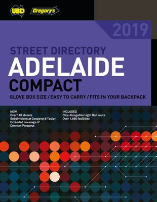Adelaide Compact Street Directory 2019 10th  ed