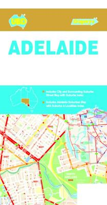 Adelaide City Streets & Suburbs Map 562 8th ed.