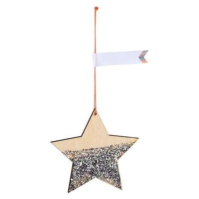 Star Gift Tags Pack of 8 (wooden)