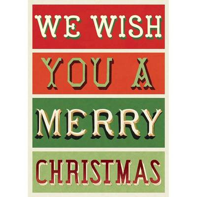 We Wish You a Merry Christmas - wrap