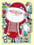 Advent Calendar - Santa and Rudolph Diecut