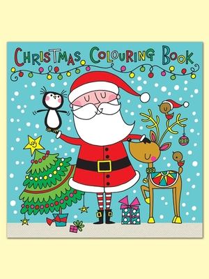 Santa, Rudolph, Penguin Christmas Colouring Book