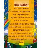 Prayer Card Our Father: Children