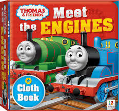 Thomas Cloth Book Meet the Engines