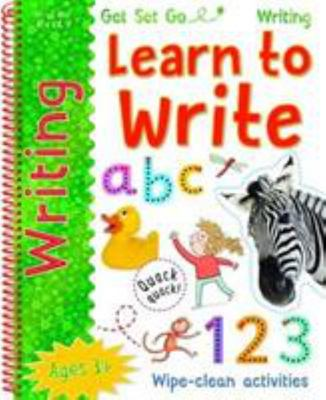 Get Set Go Writing: Learn to Write