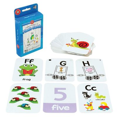 Alphabet & Numbers 1-10 Flash Cards Ages 3+ - GNS