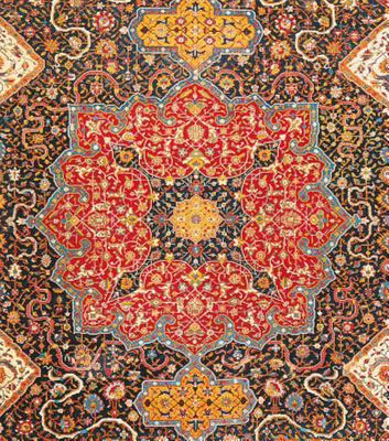 The Persian Carpet Tradition - Design Evolution from 1410 to Modern Times