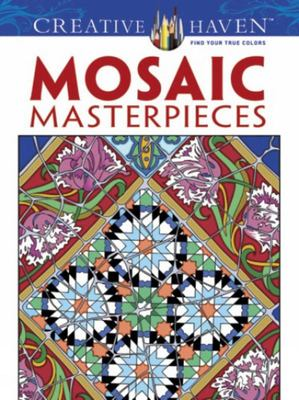 Mosaic Masterpieces Colouring Book