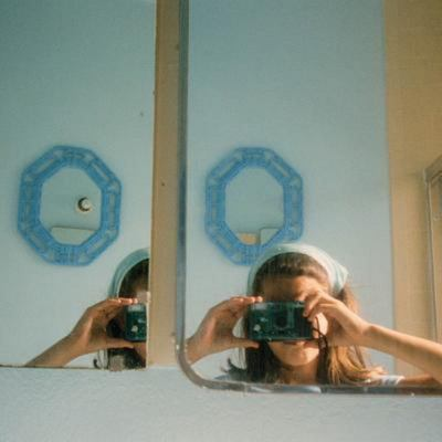 Anne Collier - Women with Cameras (Self Portrait)