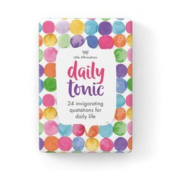 Daily Tonic - 24 Affirmation Cards