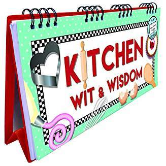 Kitchen Wit and Wisdom Flip Book