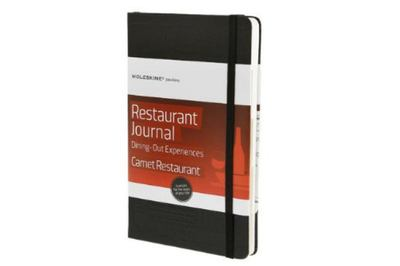 Moleskine Passion Journal Restaurant Dining Out Experiences