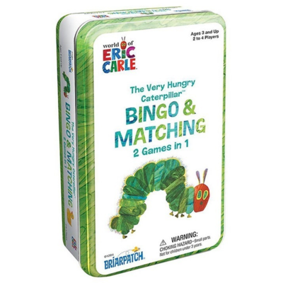 The Very Hungry Caterpillar Bingo & Matching Game Tin