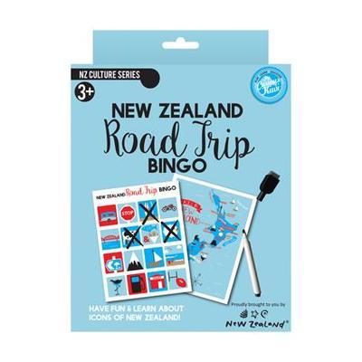 New Zealand Road Trip Bingo