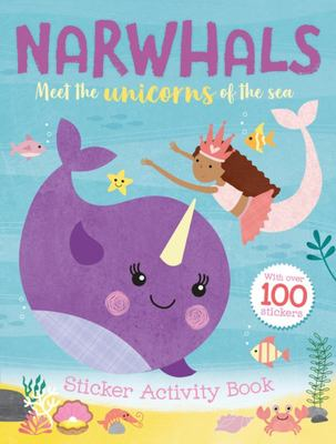 Narwhal Sticker and Activity Book