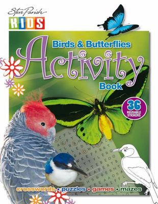Birds and Butterflies Sticker Activity Book