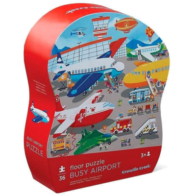 Busy Airport 36pc Floor Puzzle