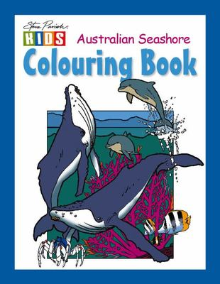 Australian Seashore Colouring Book