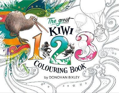 The Great Kiwi 123 Colouring Book