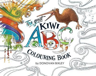 The Great Kiwi ABC Colouring Book