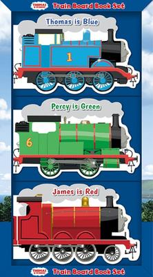 Thomas The Tank Engine Train Board Book Set
