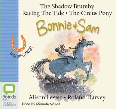 Bonnie and Sam (books 1, 2 & 3) audio CD