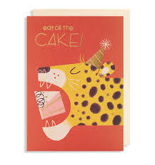 Eat All The Cake! card