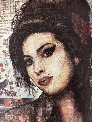 "Amy Winehouse - ""Frame It"" Art Cards"