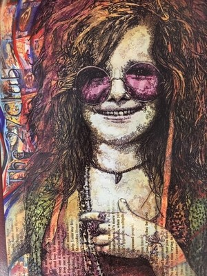 "Janis Joplin - ""Frame It"" Art Cards"