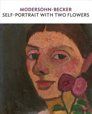 Self-Portrait with Two Flowers