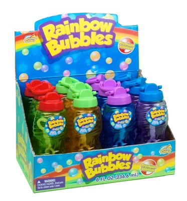 Rainbow Bubbles (236ml and Wand)