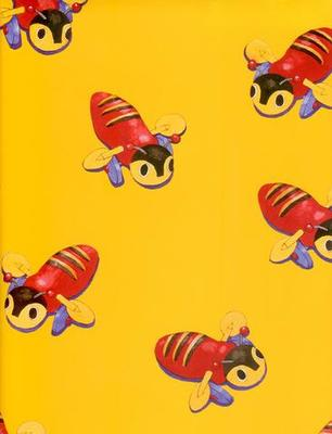 Buzzy Bee Yellow Wrap