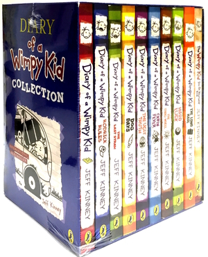 The Diary of a Wimpy Kid Box Set (#1 - 9 + DIY)