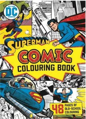 Superman Comic Colouring Book (Vintage)