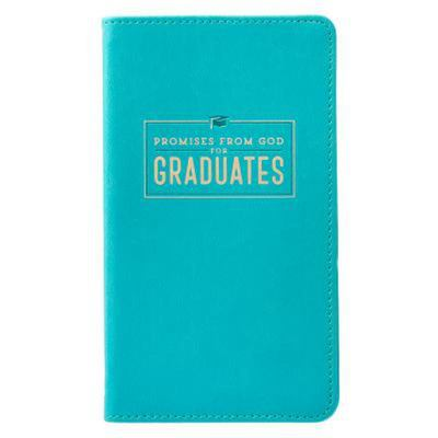 Promises from God for Graduates Teal Lux-Leather