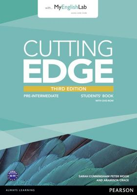 Cutting Edge Pre-Intermediate Students Book/DVD Pack & MyEnglishLab (3e)