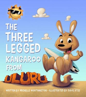 Three Legged Kangaroo from Uluru