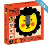 Animal Face Four-layer Wood Puzzle (MP-G0735355903)