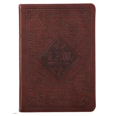 Journal Names Of God Brown Luxleather